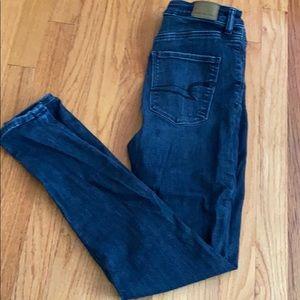 American Eagle Highway Rose Jegging Size 6
